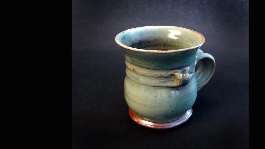 Copper Salt Mug